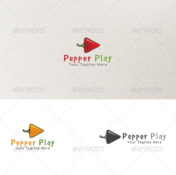 Pepper Play - Symbols Logo Templates