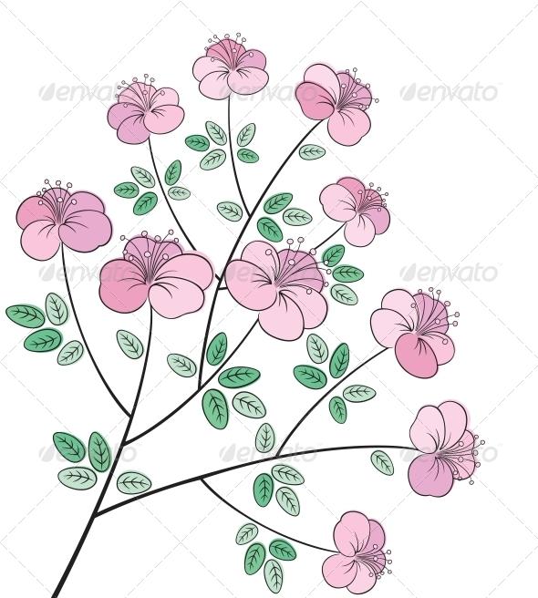 Flower Line Art - Flowers & Plants Nature