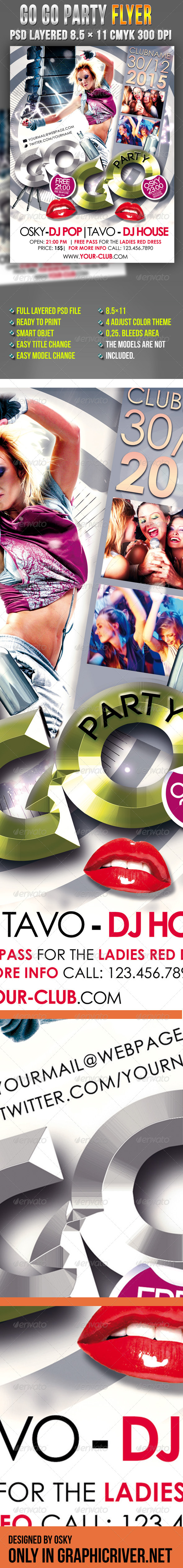 Go Go Party - Clubs & Parties Events
