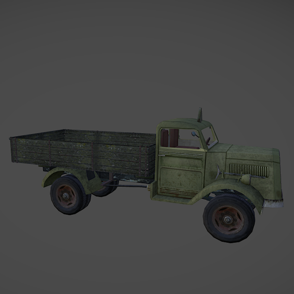 Blitz Opel Truck - 3DOcean Item for Sale