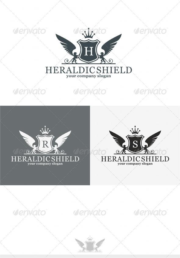 Heraldic Shield Logo - Crests Logo Templates