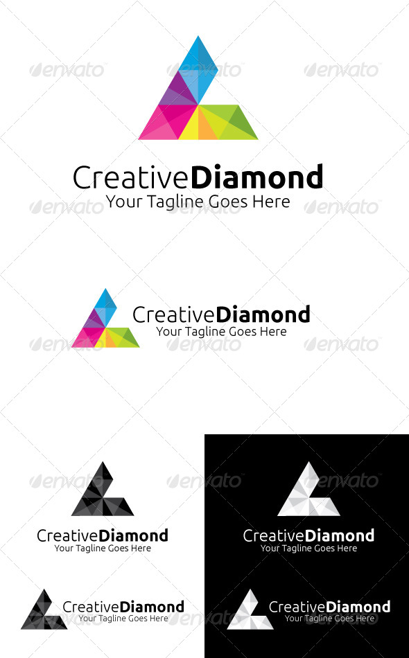 Creative Diamond - Symbols Logo Templates