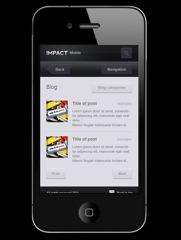 Free Download Impact Mobile Nulled Latest Version