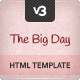 The Big Day - Responsive One-Page Wedding Template Nulled