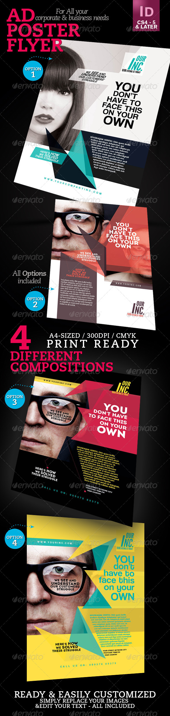 Corporate Ad / Flyer / Poster V1 - Corporate Flyers