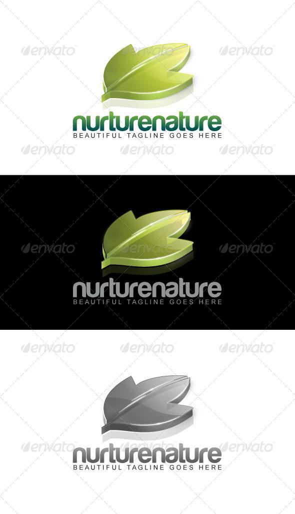 Nurture Nature Logo - Nature Logo Templates