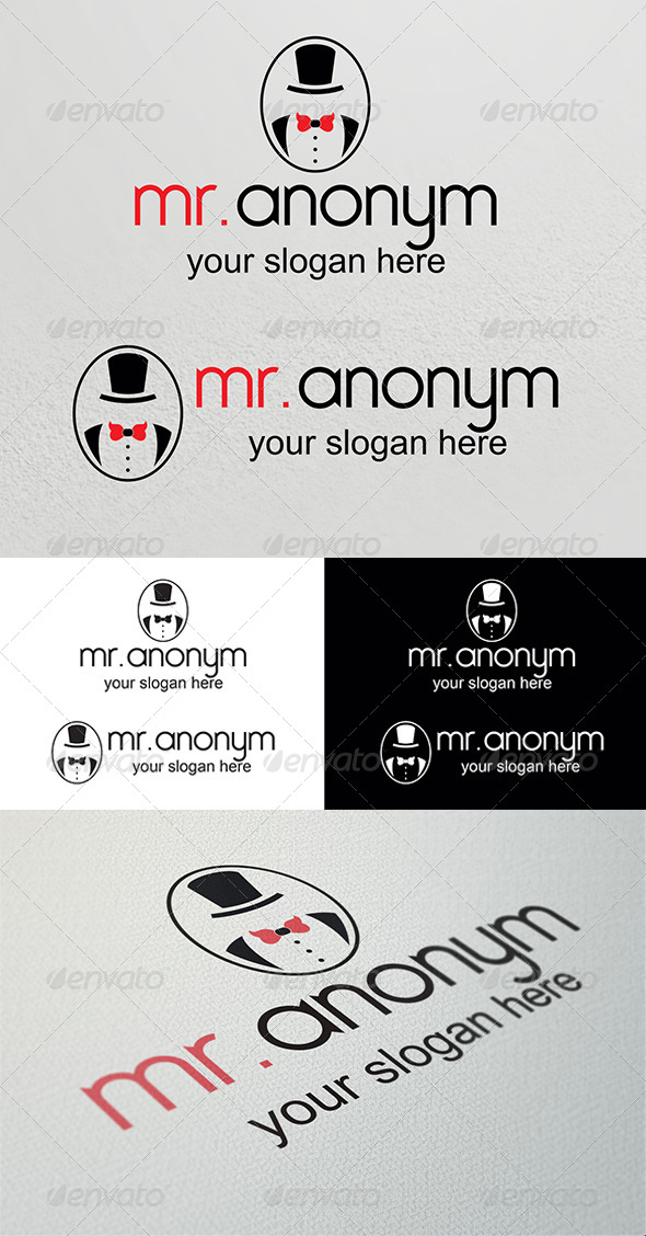 Anonym Logo Template - Humans Logo Templates