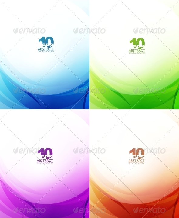Abstract Waves - Backgrounds Decorative