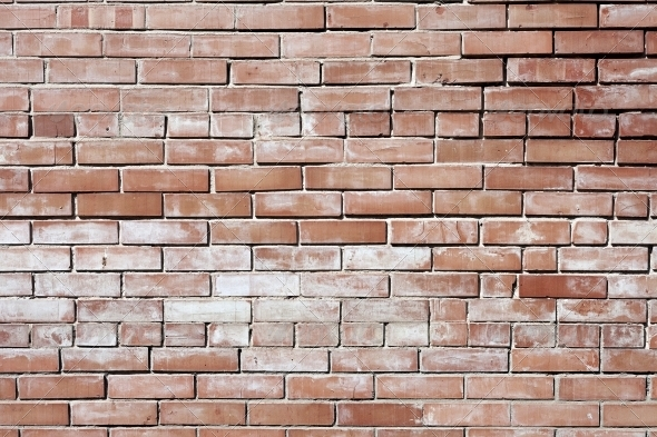 Vintage red background brickwall - Stone Textures