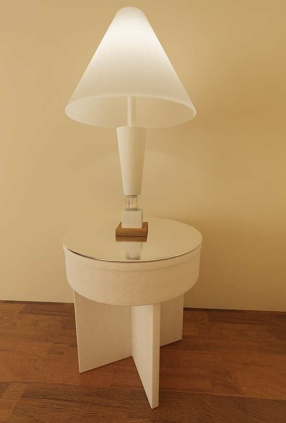 Night Lamp - 3DOcean Item for Sale