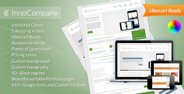 InnoCompany - Multipurpose Corporate Drupal theme