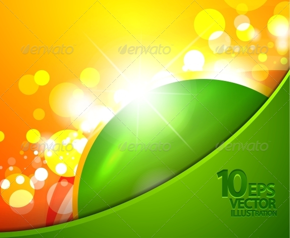 Hi-Tech Shiny Techno Bubble Background - Backgrounds Decorative