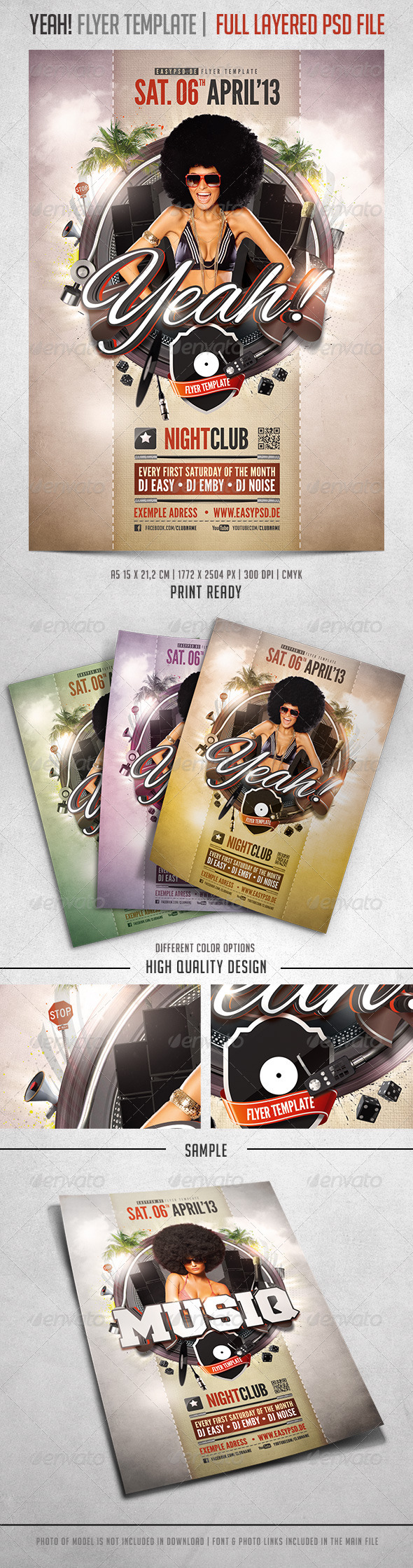 Yeah Flyer Template - Events Flyers