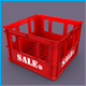3D Plastic Beer Box Mold / Plastic Storage Box Mol - 3DOcean Item for Sale