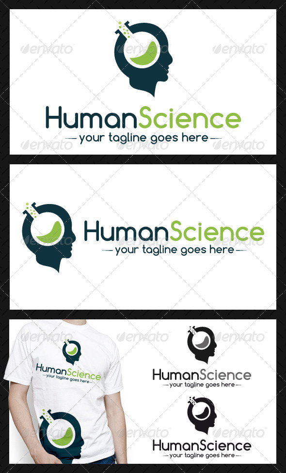 Human Science Logo Template - Humans Logo Templates