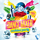 Dance Mixer Party Flyer