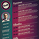 Retro Style Resume - GraphicRiver Item for Sale