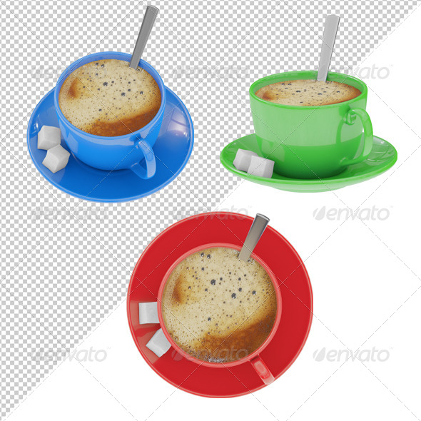 Coffee Cup - Objects 3D Renders