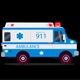 Ambulance Cartoon - VideoHive Item for Sale