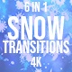 Snowflake Transitions  - VideoHive Item for Sale