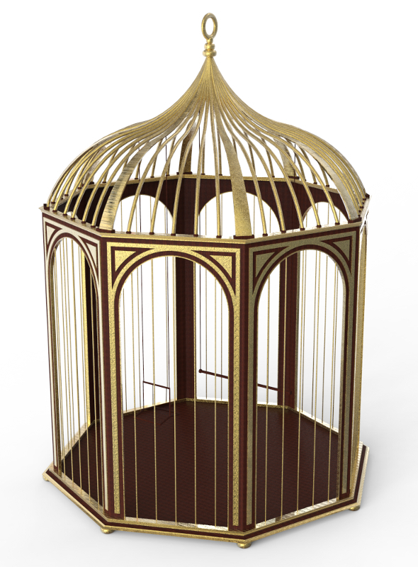 Bird Cage - 3DOcean Item for Sale