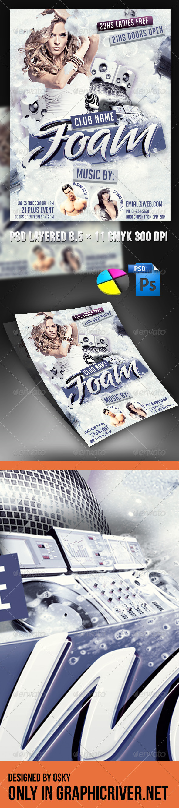 Foam Party - Clubs & Parties Events
