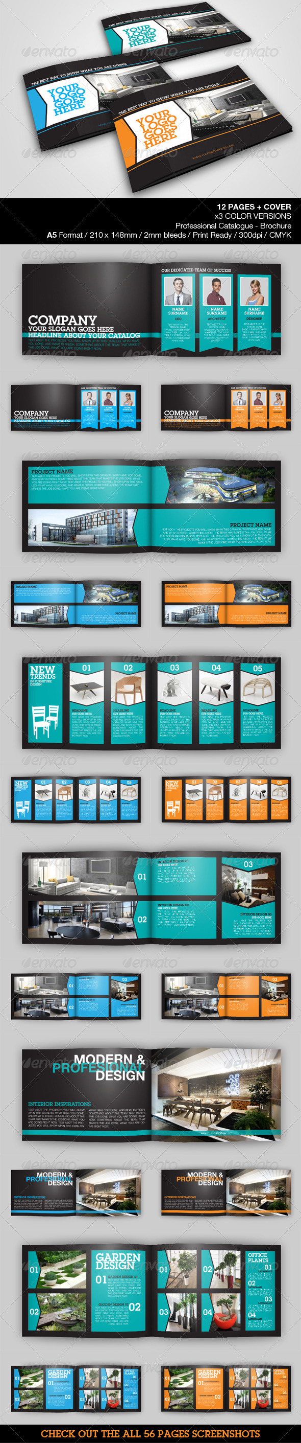Architecture & Design A5 Catalog - Catalogs Brochures