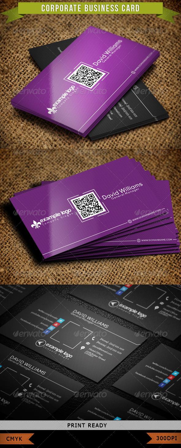 Corporate Business Card 006 - Corporate Business Cards