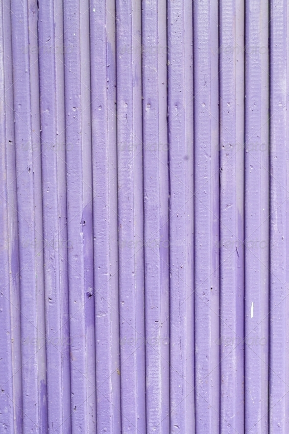Lilac old painted wooden fence, - Wood Textures