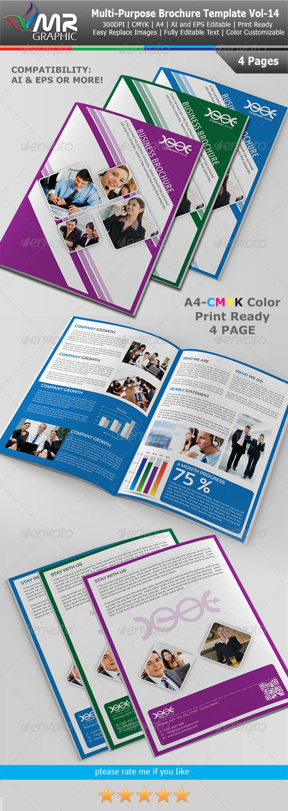 Multipurpose Business Brochure Vol-14 - Corporate Brochures