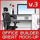 Office Builder 3 - Great Mockup Pack - GraphicRiver Item for Sale