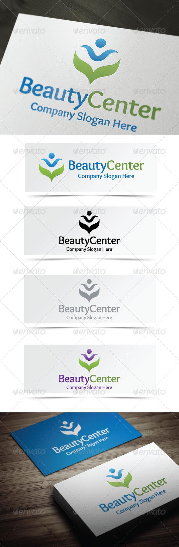 Beauty Center - Humans Logo Templates