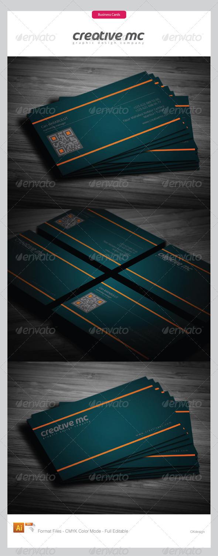 Corporate Business Cards 298 - Corporate Business Cards