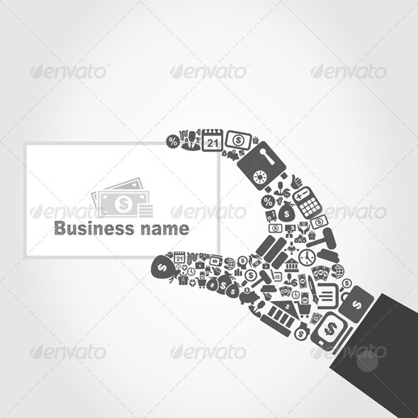 Hand Business - Business Conceptual