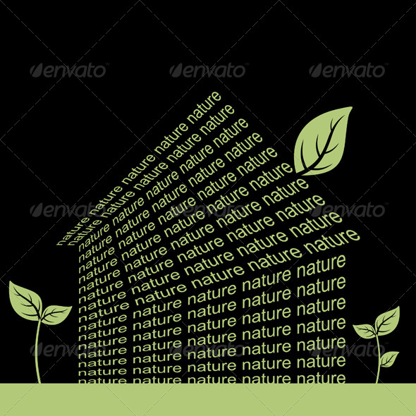 Nature the House - Buildings Objects