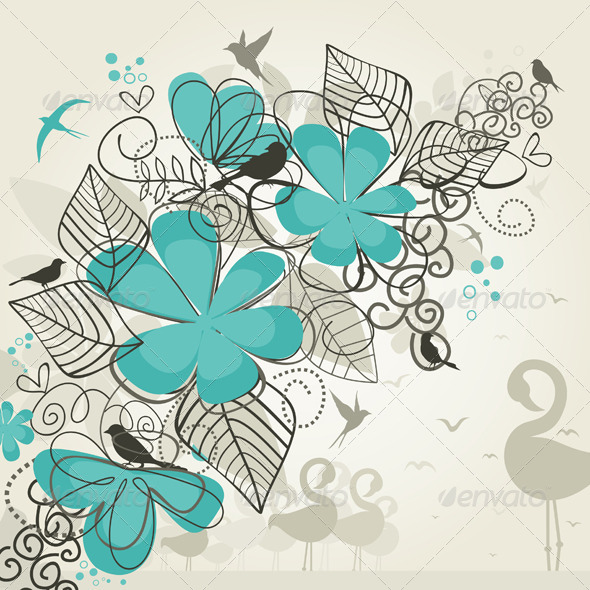 Paradise of Birds - Flowers & Plants Nature