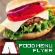 Restaurant and Food Menu Flyer - GraphicRiver Item for Sale