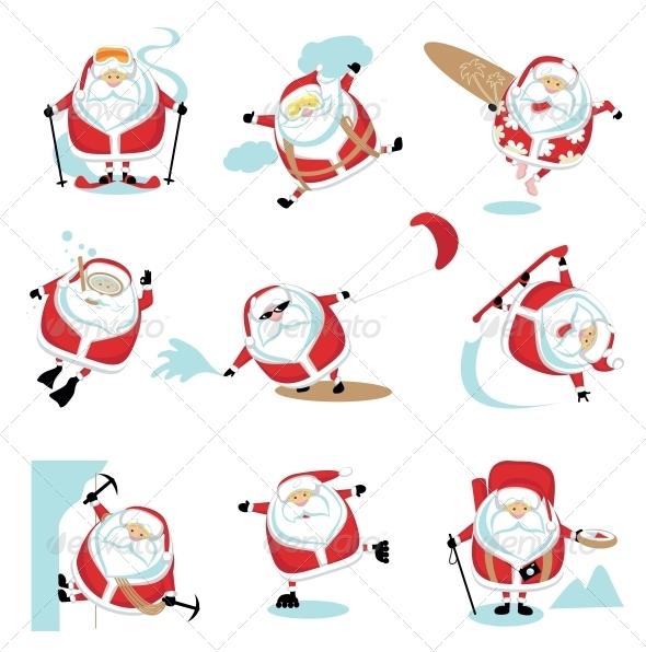 Extreme Santa - Christmas Seasons/Holidays