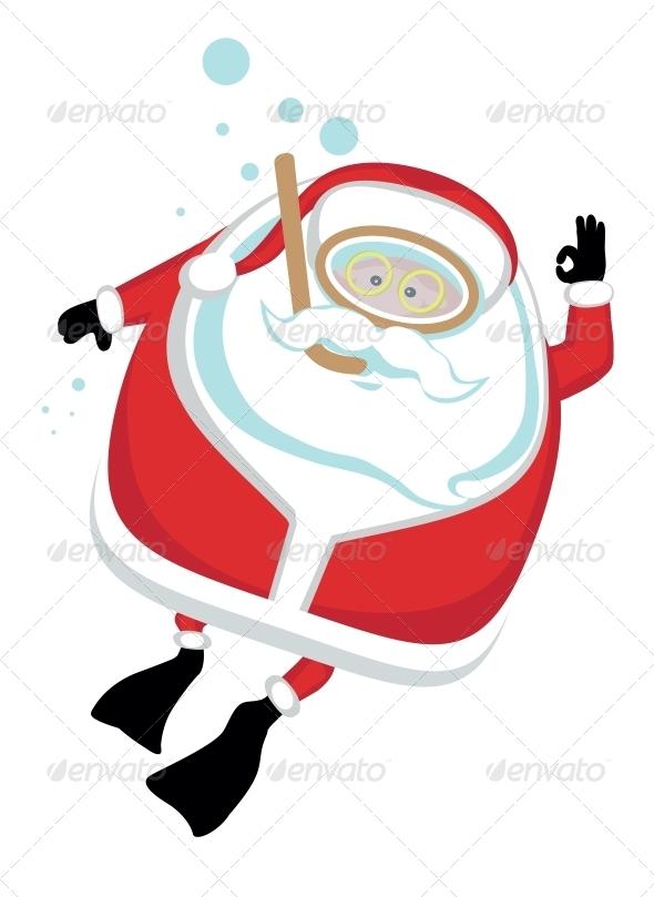 Extreme Santa - Sports/Activity Conceptual