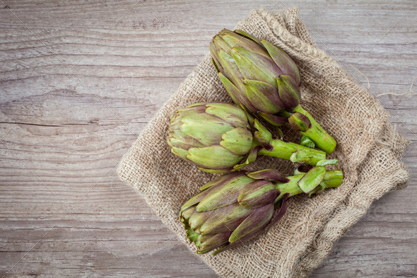 Artichokes - Stock Photo - Images