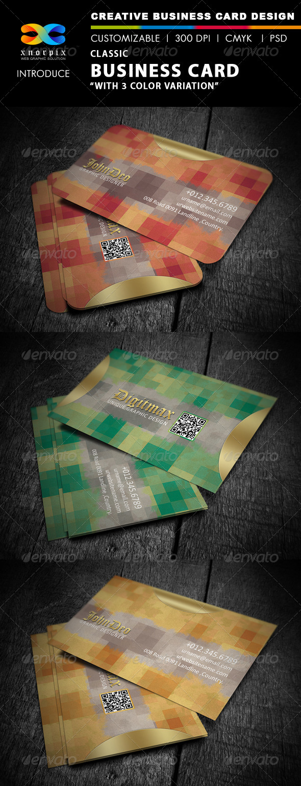 Classic Business Card - Creative Business Cards