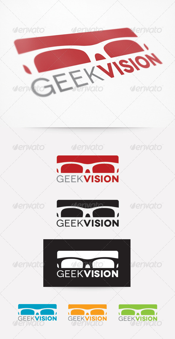 Geek Vision Logo - Objects Logo Templates