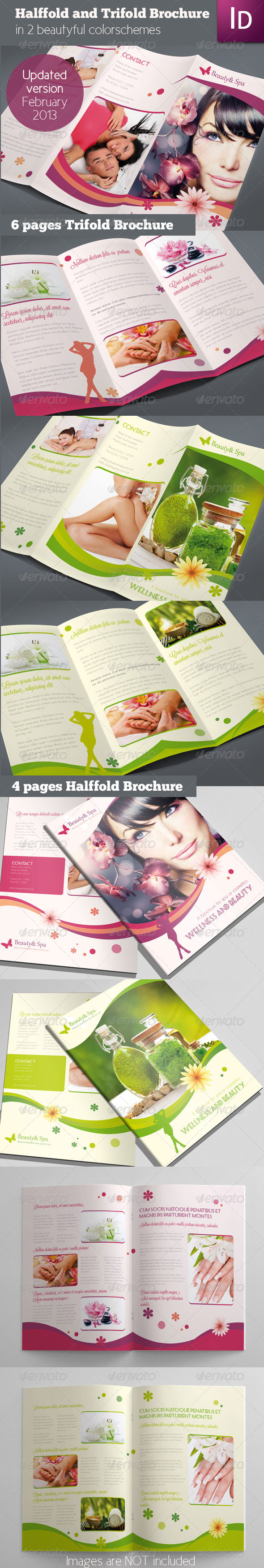 Set of 2 Brochures - Corporate Brochures