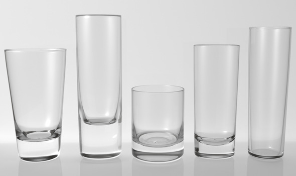 Glass Pack Collection 05 - 3DOcean Item for Sale