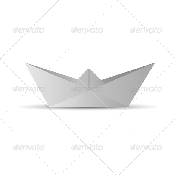 Paper Boat - Miscellaneous Isolated Objects