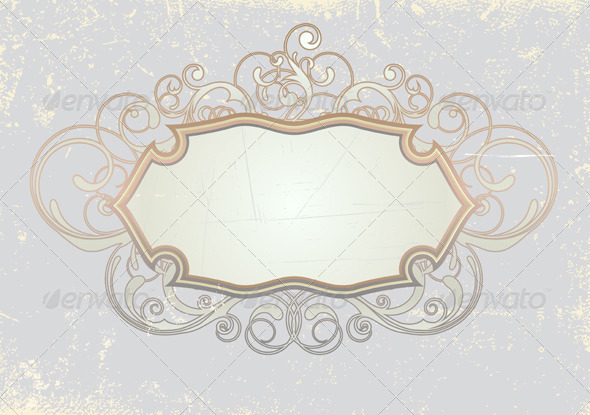 Retro Frame - Borders Decorative