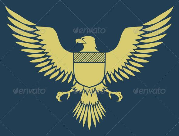 Coat of Arms Bird  - Decorative Vectors
