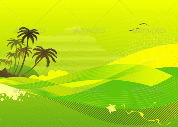 Summer Concept - Backgrounds Decorative