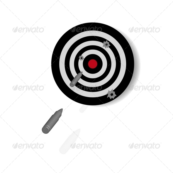Target for shooting  - Activities & Leisure Isolated Objects