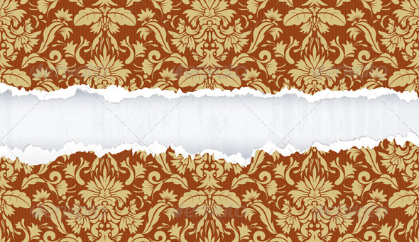 Ripped Paper - Backgrounds Decorative